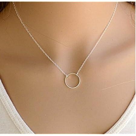 Yolandabecool, collana da donna, alla moda, multistrato, affascinante, ottima idea regalo U