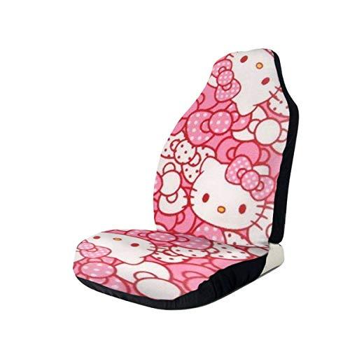 Hello Kitty Cartoon Cute Fundas para asientos de coche Alfombrilla interior Cojín Accesorios para c
