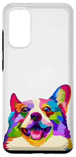 Galaxy S20 Corgi phone case Colorful Corgi Pop Art Style Case