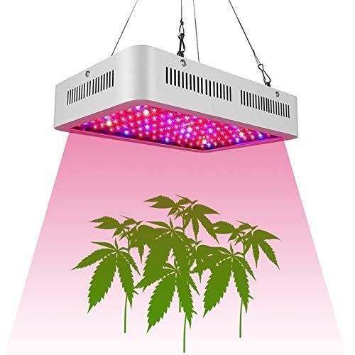 QYWSJ 1000W LED Élèvent La Lumière, Lampe à Haute Puissance à Double Puce Et à Spectre Complet, pour Cultiver Tente Et Serre, pour Planter des Semis, Germination Et Floraison