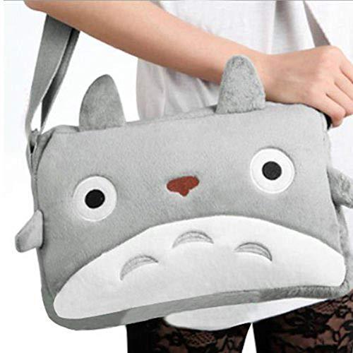 Qiyun Totoro Kuriertasche mit japanischem Anime-Motiv, Cawaii