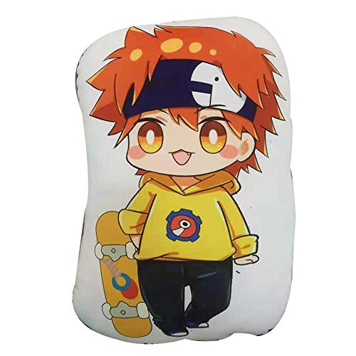 Bftelly Anime Plushies for SK8 The Infinity Reki Kyan Cute Plush Toy Pillows Stuffed Figure Throw Pillows Plush Back Cushions Gifts for Teens Boys Girls -  TB002-SK8 the Infinity Reki Plush Toys