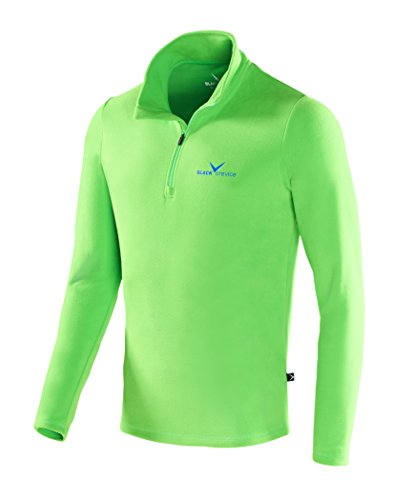Black Crevice Skirolli, Polaire &agrave Skirolli Homme, Vert (Green - green/blue), XL (Taille fabricant: 54)