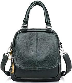 TOOGOO Simple Multi-Functional Backpack Girl Shoulder Bag Female Leisure Travel Backpack Black