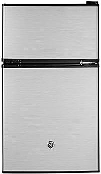 GE 3.1 Cubic Foot Freestanding Double Door Compact Refrigerator