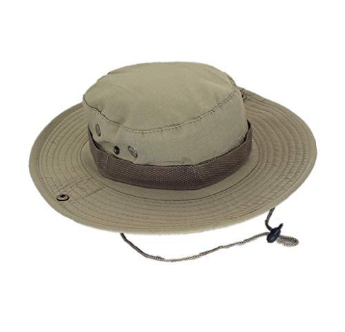 Boonie Hat,Sombrero de Cubo Protección Solar CP Camuflaje Cubo Sombrero para la Pesca Al Aire Libre...