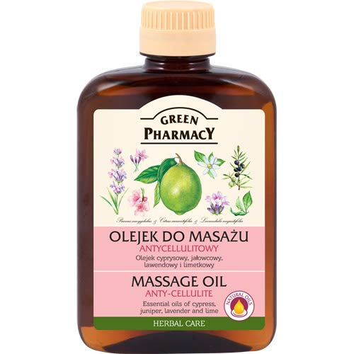 Green Pharmacy- Aceite anticelulitico a base de aceites esenciales de Lavanda enebro...