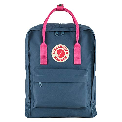 Fjällräven Unisex-Adult Kånken Sports Backpack, Royal Blue-Flamingo Pink, One Size
