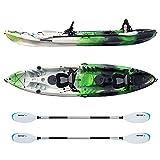 Best Sit On Top Fishing Kayaks - Driftsun Teton 120 Hard Kayak - 2 Person Review