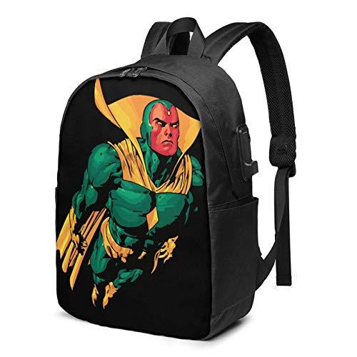 IUBBKI Bolsa para computadora mochila USB P-Aul Bett-Any Logo 17 Inch Laptop Backpack For Men & Women,Travel/School Backpack With Usb Charging Port & Headphone Interface