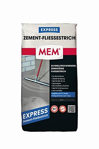 MEM 30609243 Zement-Fließestrich EXPRESS 30 kg