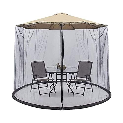 XIANGL Portátil Fino Transpirable Paraguas Netting Funda con Cremallera Malla con Cremallera Parasol Outdoor Net Garden Cover Exclusión de Paraguas y Fundación Plegable Fácil de Instalar