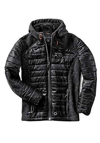 Eddie Bauer Chaqueta deportiva para hombre con insertos de lana, chaqueta acolchada, multicolor Negro XXL