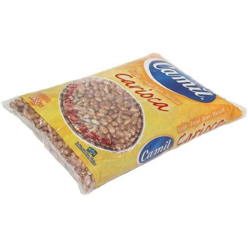 Bohnen (braun aus Brasilien) CAMIL - Feijão Carioca CAMIL 1kg