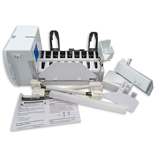 Supplying Demand WR30X10093 Refrigerator Ice Maker Assembly Electromechanical Kit Fits AP6891612 & WR30X30972