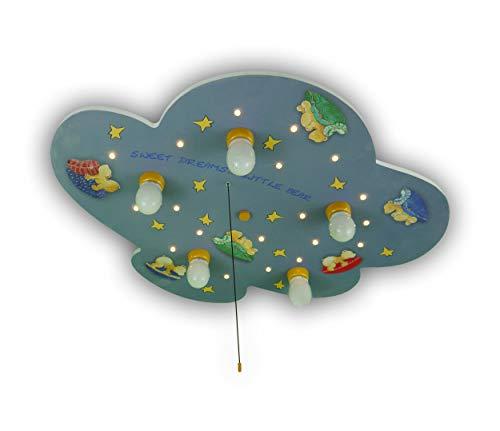 Niermann Standby 641 Plafondlamp Wolken Beerchen, Meerkleurig