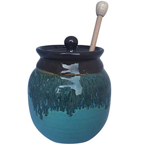 Clay in Motion Honey Pot (Ocean Tide)