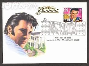 Elvis Presley First Day Issue Graceland Envelope 1993