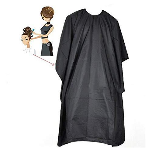KinderALL Cape Coiffeur Tablier Barbe Capes de Coiffure Et Robes De Coiffure De Coupe Col Hair Dye Cap Maquillage Cape Rasage Bib De Coiffure Robe