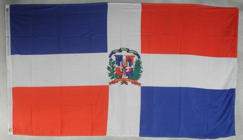 Flagge Fahne ca. 90x150 cm : Dominikanische Republik Domrep Nationalflagge Nationalfahne