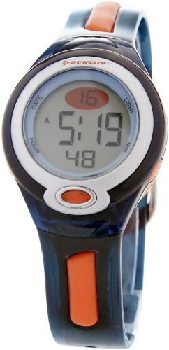 Dunlop Damen Digital Quarz Uhr mit Gummi Armband GAME2