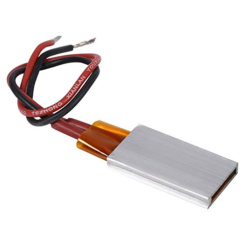 Nikou PTC-Heizelement - AC/DC 12V Temperaturbeständige Keramik-Thermostatplatte Platte Konstanttemperaturheizung (Größe : #3 : 220℃)