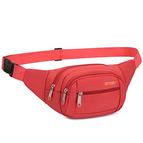fghfhfgjdfj Men Women Waist Bags Running Fanny Pack Women Waist Pack Pouch Belt Bag