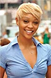 Naseily Short Blond Pixie Cuts Hair Wigs African American Short Red Wig Female Hairstyles (NAS-8801)