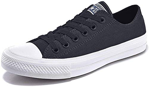 Converse Unisex Low Top Chuck Taylor All Star II Canvas Shoes Black
