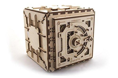 UGEARS Mechanisches 3D-Puzzle, hölzerner Rätsel für Kinder, Jugendliche und Erwachsene