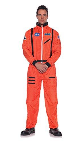 Underwraps Men's Astronaut Costume, Standard