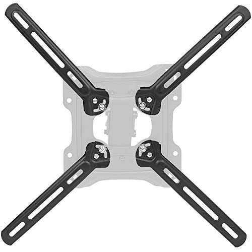 VIVO Steel VESA Mount Adapter Plate Brackets for LCD Screens | Conversion Kit for VESA up to 400x400mm (MOUNT-AD4X4)