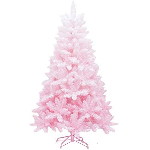 AISHANG Árbol de Navidad Artificial sin iluminación, 180 cm 6 pies, único...