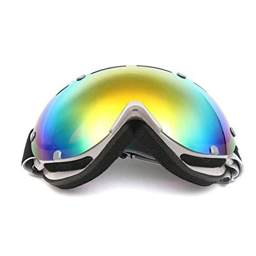Anti Mist UV Kleurrijke Lens Ski Motorfiets Goggle Outdooors Sneeuw Snowboard Mountainbike Bril Oogkleding Motorfiets Winddichte Goggles Motorbike