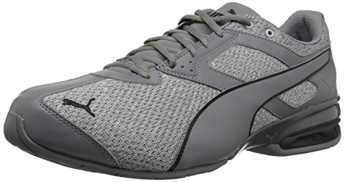 PUMA Men's Tazon 6 FM Knit Sneaker,grey,9 M US
