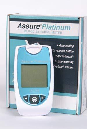 Assure Platinum Blood Glucose Meter 500001, 1 each
