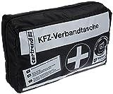 Cartrend 7730043 Kit de primeros auxilios, negro, DIN 13164, con manual de primeros auxilios
