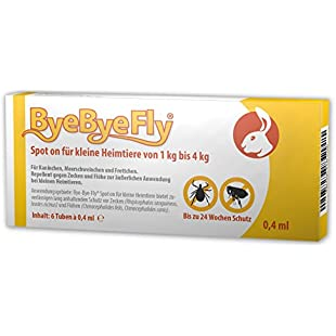 ByeByeFly - Spot on for small pets - Set of 6 Package