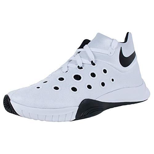 Nike Men's Zoom Hyperquickness 2015 TB Basketball Shoes (12 D(M) US, White/Black)
