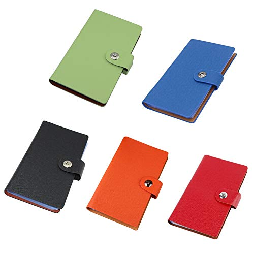 『YANHUA Business Card Books Business Card Holders with Magnetic Closure for Organizing Cards Journal Business Card Organizer Name Card』のトップ画像