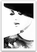 YTGDFB لوحة فنية جدارية فنية جدارية مطبوعة على القماش للنساء وزهرة اللوتس الحديثة بالحبر الصيني الجديد من YTGDFB