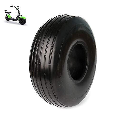 Neumáticos para Scooter eléctrico, neumáticos sólidos 4.10/3.50-4, Resistentes al Desgaste, Antideslizantes, Resistentes a los pinchazos Accesorios para neumáticos no neumáticos de 10 pulg