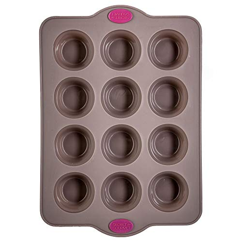 JJA Moule 12 Muffins Silicone SILITOP