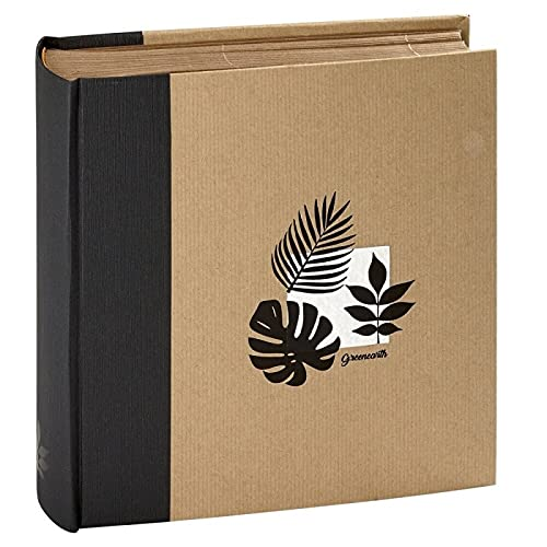 Panodia Album Photo Pochettes Greenearth Noir 200 Photos 11,5x15, 100 Pages - fabriqué en France