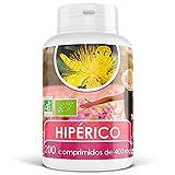 Hipérico (Hierba de San Juan) Orgánico - 400 mg - 200 comprimidos