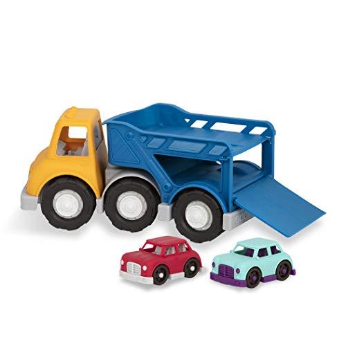 Wonder Wheels- Camión Porta Coches (BATTAT VE1020Z)