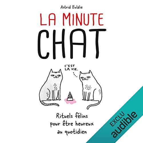 Page de couverture de La minute chat
