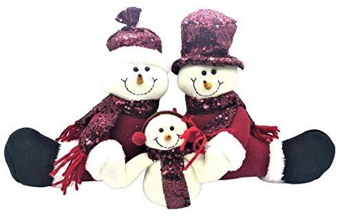 Swan household  - Christmas Decoration Xmas Snow Man...