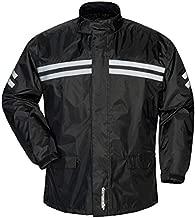 Tourmaster Shield Two-Piece Rainsuit (Large) (Black)