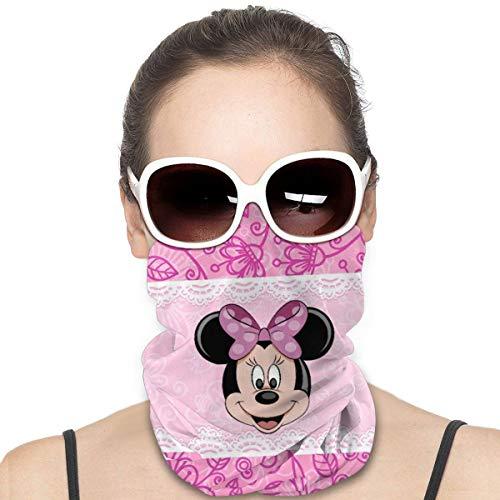FASHIONDIY Mickey Mouse Minnie Sport Reiten Maske Kopfbedeckung Gesicht Schal Abdeckung Unisex Outdoor Stirnband Turban Hals winddicht Fall Sonnenschutz nahtlos Bandana 50 x 25 cm
